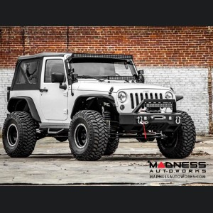 "Jeep Wrangler JK Suspension Lift Kit w/Vertex Reservoir Shocks - 4"" Lift"